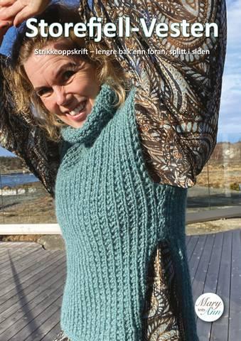 Bilde av Storefjell-Vesten, strikkeoppskrift