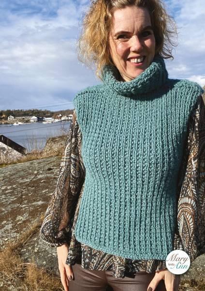 Storefjell-Vesten, strikkeoppskrift