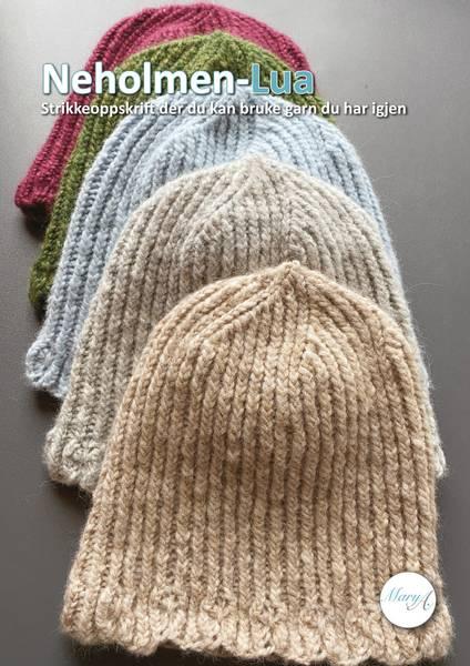 Neholmen-Lua, strikkeoppskrift