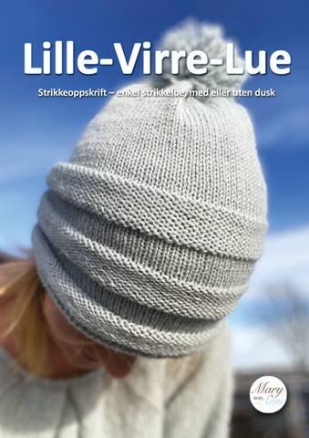 Bilde av Lille Virre Lue, strikkeoppskrift