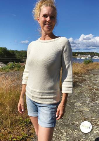 Bilde av Holme-genseren, Naturhvit