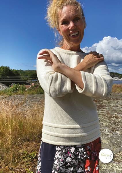Holme-genseren, Naturhvit