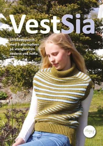Bilde av VestSia, strikkeoppskrift