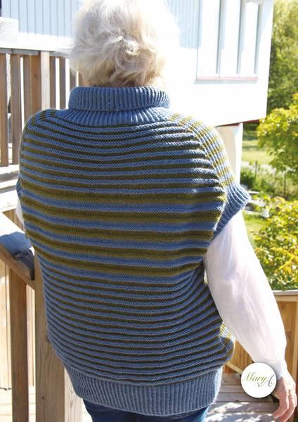 VestSia, strikkeoppskrift