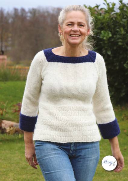 Sand-genseren, strikkeoppskrift