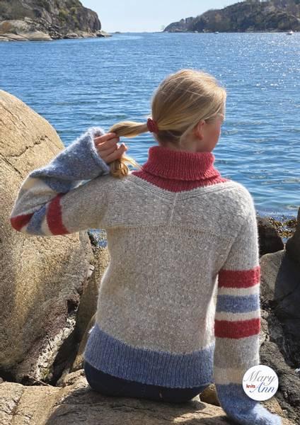 Marytim-genseren, strikkeoppskrift