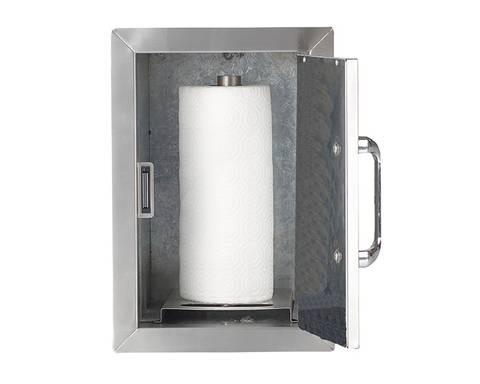 Bilde av BULL - Tørkerull dispenser i rustfritt stål