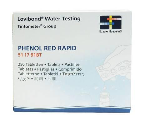 Bilde av Phenol Red Rapid (pH) til PoolTester