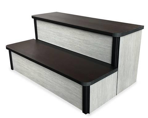 Bilde av Trapp 81 cm, syntetisk, Brushed Grey