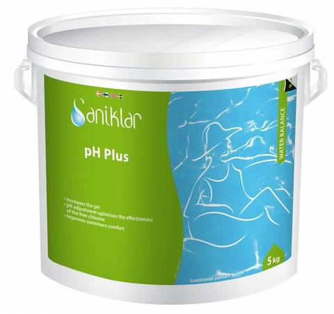 Bilde av Saniklar pH Plus 5 kg