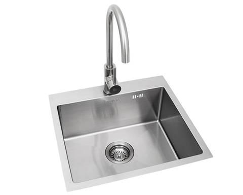 Bilde av BULL - Premium vask med blandebatteri i rustfritt