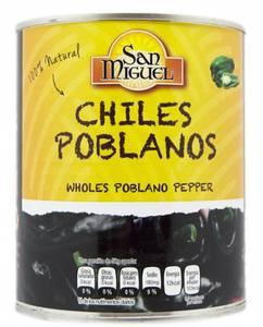 Bilde av Chile Poblano 790g / San