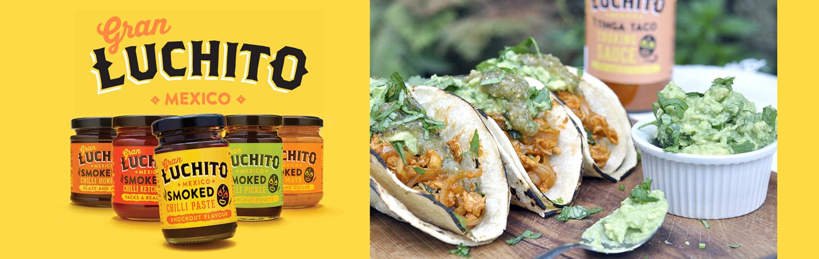 Kjøp Gran Luchito online Norge, meksikansk mat