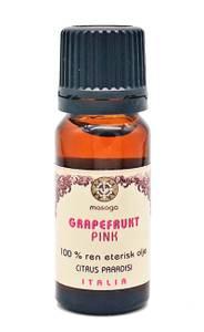 Bilde av Grapefruktolje pink 100 % eterisk olje 10 ml Masaga