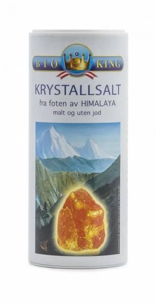 Himalayasalt finmalt bøsse BioKing 200 g