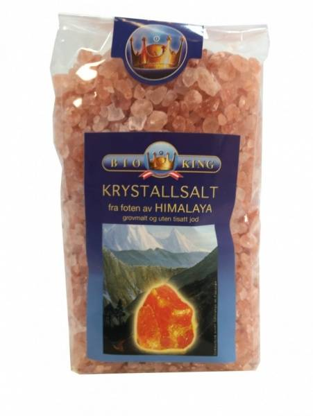Himalayasalt grovt BioKing 500 g