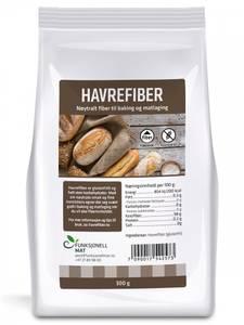 Bilde av Havrefiber 300 g Funksjonell Mat