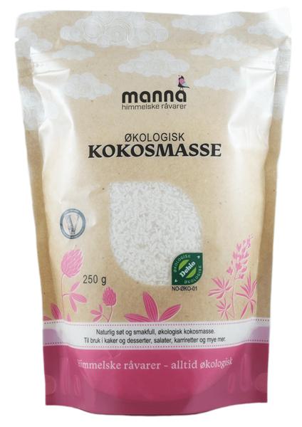 Kokosmasse økologisk 250 g Manna