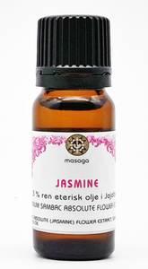 Bilde av Jasminolje 3% eterisk olje i jojobaolje 10 ml Masaga