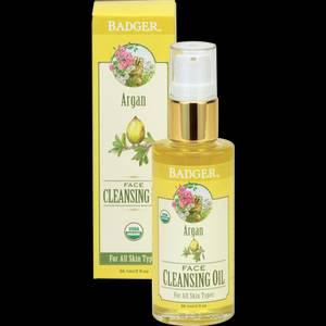 Bilde av Badger Argan Face Cleansing Oil 59 ml
