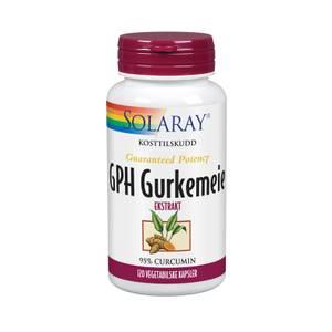 Bilde av Gurkemeie GPH Solaray 120 kapsler