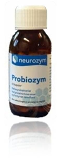 Probiozym melkesyrebakterier Neurozym 60 kapsler