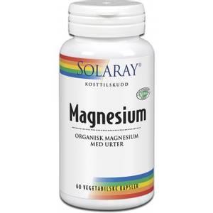 Bilde av Magnesium Solaray 60 kapsler
