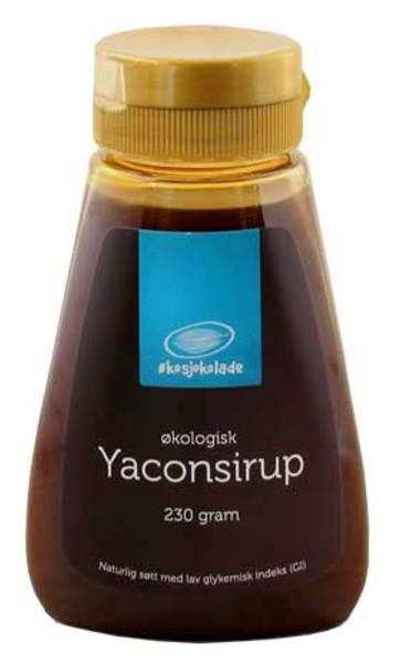 Yaconsirup økologisk Fairtrade Økosjokolade 230 g