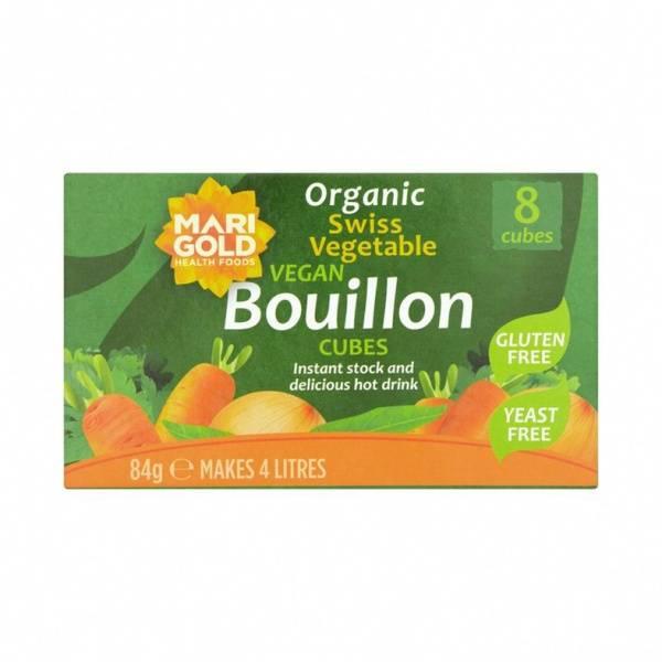 Grønnsaksbuljong økologisk gjærfri glutenfri Marigold 84 g