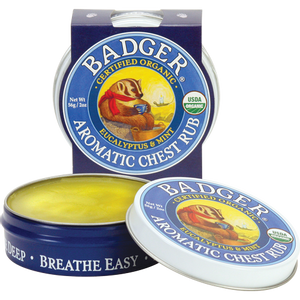 Bilde av Badger Balm Aromatic Chest Rub (brystbalsam) 21 g