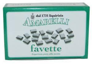 Bilde av Ekte lakris pastiller med peppermynte 100 g Amarelli