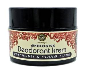 Bilde av Deodorant krem naturlig Patchouli & Ylang Ylang 40 g Masaga