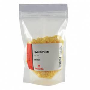 Bilde av Bivoks ubleket pellets 100 g Sunvita