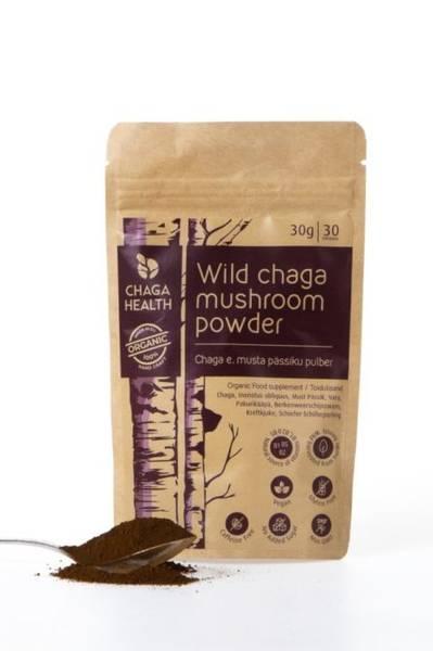 Chaga pulver økologisk 30 g ChagaHealth