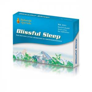 Bilde av Blissful Sleep 60 tabletter Maharishi Ayurveda