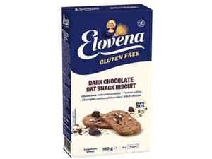 Bilde av Havrekjeks glutenfri med sjokoladebiter 160 g Elovena / Provena