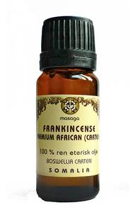 Bilde av Frankincense Boswellia Carteri  100 % eterisk olje 10 ml Masaga