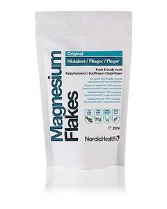 Bilde av Magnesium Flakes (magnesiumklorid) 250 g Nordic Health