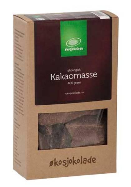 Kakaomasse økologisk Økosjokolade 400