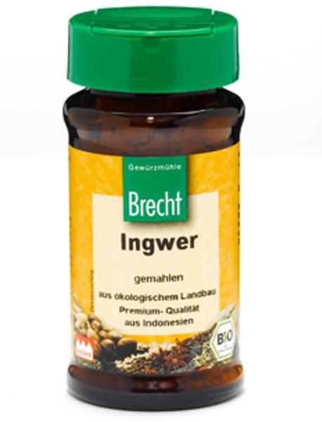 Ingefær malt økologisk Brecht 25 g