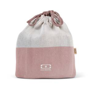 Bilde av Monbento Pochette L Bento Bag, Natural Flamingo