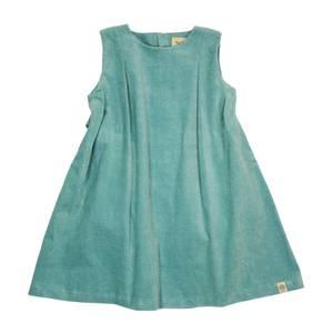 Bilde av MeMini Amelie cord dress, Oil Blue kjole