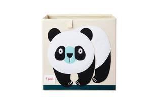 Bilde av 3 Sprouts Oppbevaringskurv, Panda
