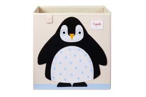 Bilde av 3 Sprouts Oppbevaringskurv, Pingvin
