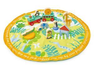 Bilde av Tender Leaf Toys Leketeppe Safari Park Story Bag