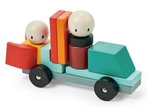 Bilde av Tender Leaf Toys Magnetiske Blokker Racing