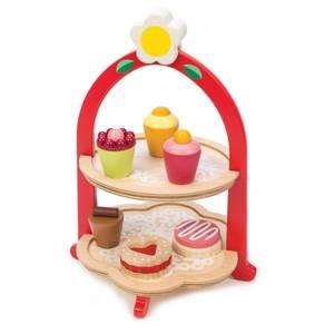 Bilde av Tender Leaf Toys Kakefat i Tre med Kaker