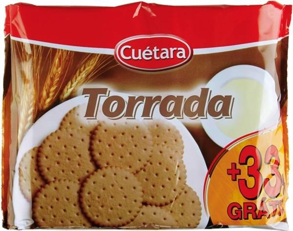 Bilde av BOLACHA TORRADA CUÉTARA 800g