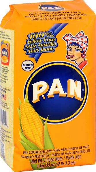 Bilde av Harina PAN maismel gul 1kg
