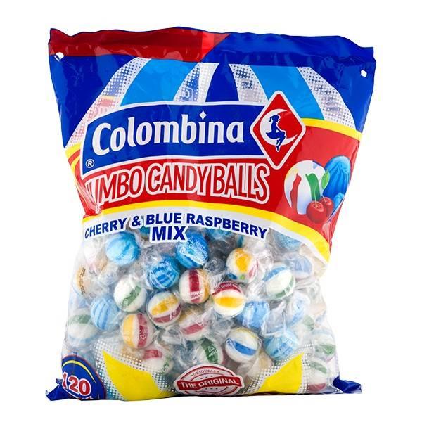 Bilde av COLOMBINA Jumbo Candy Balls 1,08kg